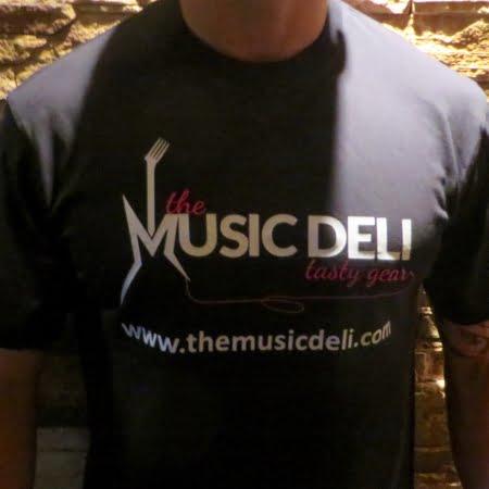 music deli t-shirt