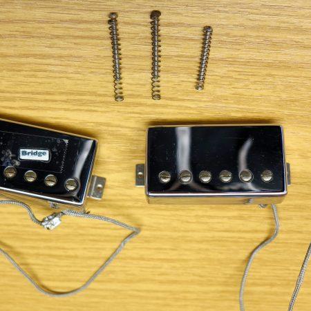 gibson les paul pickups tops screws