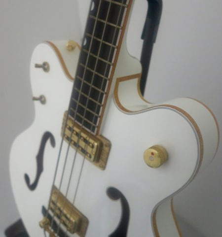 gretsch white falcon angle face