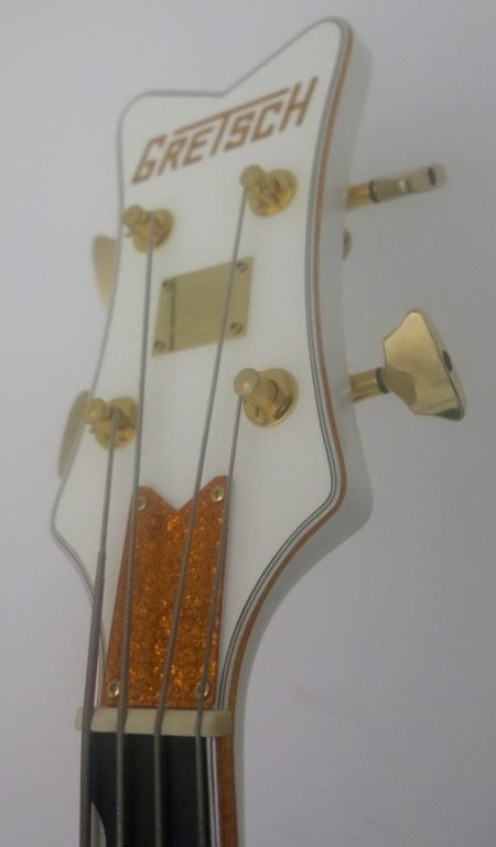 gretsch white falcon close headstock